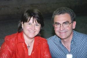Marcela de Amarante y Javier Amarante.