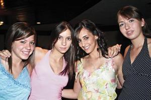 Noraliz, Estefy, Bárbara y Ana Melissa
