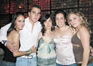 Mariana Canepa, Luis Eduardo Monroy, Gabriela Cabello, Reyna María Ramos y Frida Siller