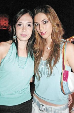 Belinda Villarreal y Mariana Sáenz