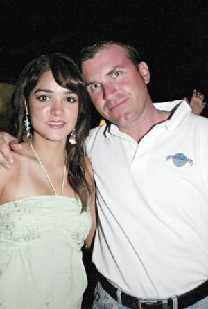 Lorena Salmón y Emilio Solana