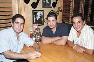 José Máynez, Gerardo Montañez y José Armando González