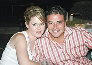 Gaby Valdés de Armendáriz y Pablo Armendáriz