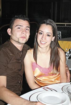 José Alberto Domínguez y Daniela Natera