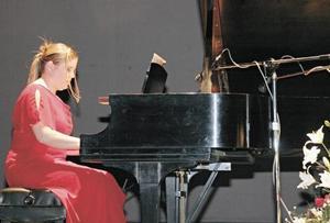 <I>Recital de Piano de La Academia Santa Cecilia<I><P> Elda Cristina Gilio de Thomé