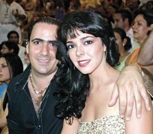 José Kawas y Mercedes Hernández Kawas