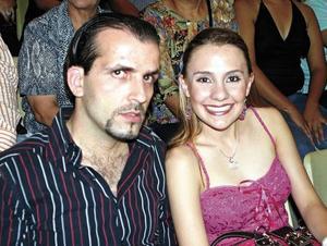 Zoyla Valdez y Miguel Batarse