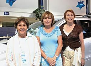 Alicia de la Rosa, Adela Cuerda de Salazar y Nancy Gonzáles de Kuri