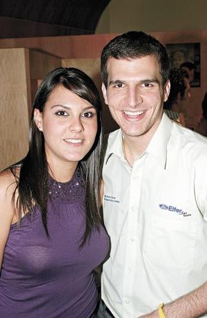 Sofía Grageda y Adrián Murra