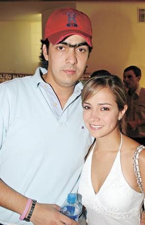 Poncho Campa y Daniela Rubio