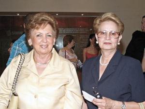 Pilar Sánchez de Barrios y Susana Niño de Rivera