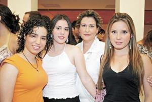 Alexa Samaniego, Paty Cedillo, Paty M. de Cedillo y Elsa Martinez