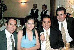 Alejandro Garza Tijerina, Maru Meléndez de Ramos, Benito Ramos y Conrado Zorrilla