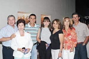 José García Triana, Io Camil de García Triana, Omar Arellano, Lenia de Arellano, Myriam G. de Chávez, Ligeia de De la Torre y Eduardo de la Torre