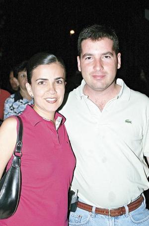 Cynthia S. de Jiménez y Javier Jiménez