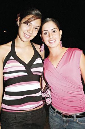Marifer Urraza y Paulina Jiménez