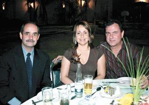 Gregorio Fernández, Mónica de Bracho y Jorge Bracho
