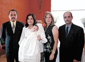 José Elías Ganem Araiz, Carolina Guerrero de Fernández, Fátima Fernández Guerrero, Martha Leticia Guerrero de Ganem y Gregorio Fernández Islas