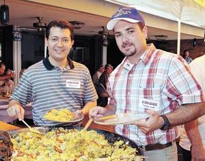 Samuel Alatorre Cantú y Fernando Laredo Martínez