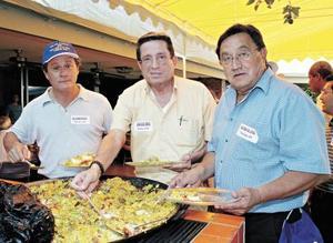 Alejandro Luna Ortiz, Jorge Álvarez Simental y Rodrigo Eduardo del Rivero