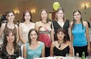 Lillián de León, Norma Martínez, Paty González, Lily Guerrero, Susy Caldera, Margarita Castañol, Laura Sánchez y Melina Reyes