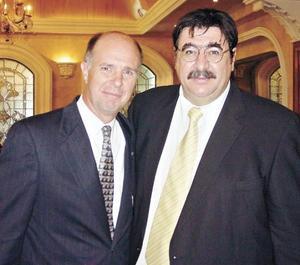 Alex Stadlin y Aris Papadópulos.