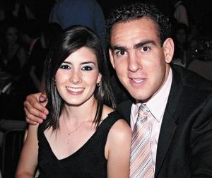 Mariana Jiménez y Eduardo Gómez