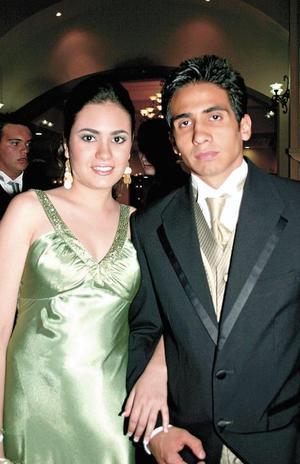 Mariana Lozano y Roque Quiroz