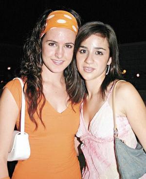 Lucía Sáenz y Dora Martínez