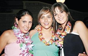 Vita Leal, Andrea Teele y Valeria Jardón