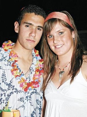 José Ángel Rebollo y Karen Von Bertrab