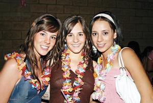 Aranza, Marcela y Sofía