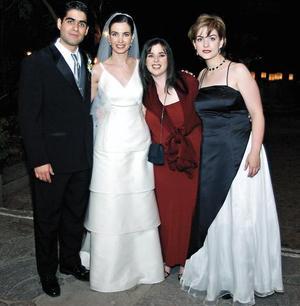 David, Lici, Cole y Luisa