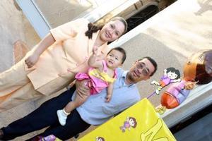 Lilia Moreno Ortegón y Luis Hirochi Takahata le organizaron una fiesta a su pequeño Meguimi Takahata Ortegón.