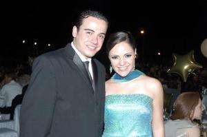 Ángel Ramos y Mary Carmen Fernández.
