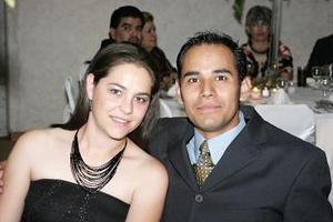 Isabel Zivec y Edgardo Urrutia.