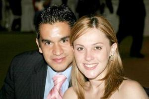 Luis y Sandra Franco.