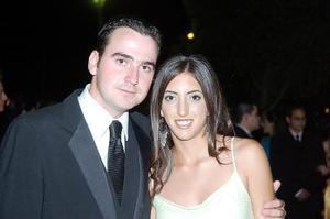 Rodolfo Zertuche y Alejandra Sánchez.