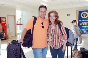 <b>10 de julio 2005</b><p>  Luis Ibarra y Heidi de Ibarra viajaron a Londres, Inglaterra.