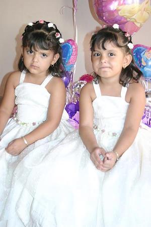 Griselda y Stephany Silva Martín festejaron cuatro años de vida, respectivamente, con una alegre fiesta infantil.