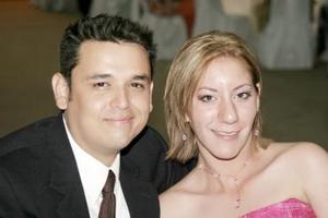 Édgar Reyes y Claudia Morales.