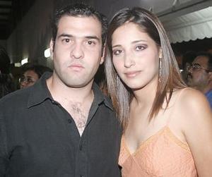 <b>10 de julio</b><p>  Rolando González y Karla Villarreal.