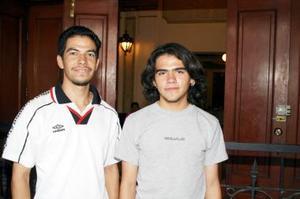 Arturo Núñez e Israel Rosas.