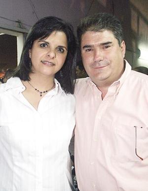 Iñaki y Cristina Belausteguigoitia.