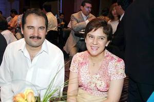 Jesús Robles y Laura Sada.