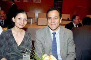 Lourdes Carrillo y Óscar Hernández.