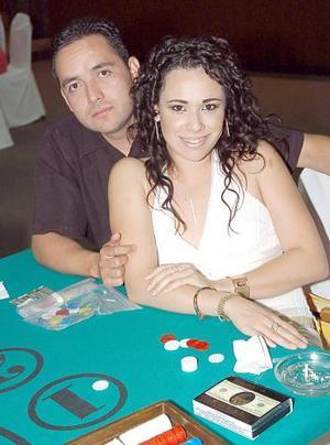 Fernando Tabares y Claudia de Tabares.
