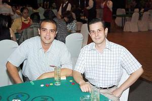 Baltazar Villarreal y Javier Robles.