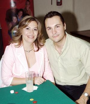 Claudia y Agustin Aguilar.