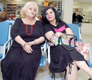 Luisa e Ivonne Sawaf viajaron a Tijuana.